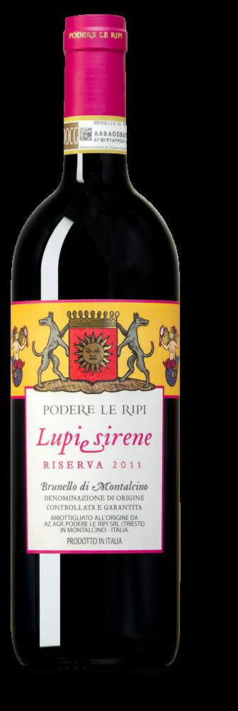 Lupi e Sirene Brunello di Montalcino 2011 riserva1,5L
