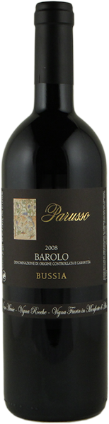 Barolo Bussia 2015 Etichetta Nera Magnum 5L - Barolo DOCG - Parusso