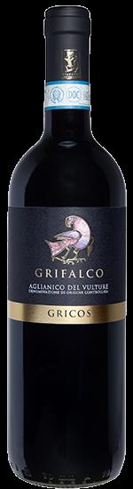 Gricos 2017 - Aglianico del Vulture DOC Biologico- Grifalco
