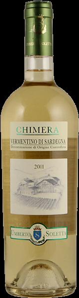 Chimera 2018 - Vermentino di Sardegna DOC - Tenute Soletta
