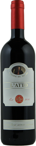 L'Atto 2018 - Basilicata IGT Rosso - Cantine del Notaio