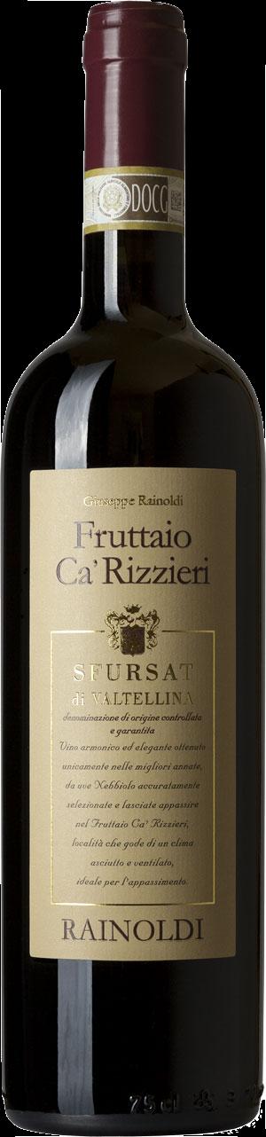 Fruttaio Cà Rizzieri 2016 Magnum 3 L - Sfursat di Valtellina DOCG - Rainoldi