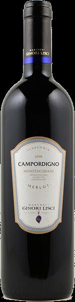 Campordigno 2017 - Montecudaio DOC Merlot Bio - Marchesi Ginori Lisci