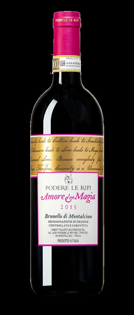 Amore e Magia 2015 - Brunello di Montalcino Docg - Podere Le Ripi