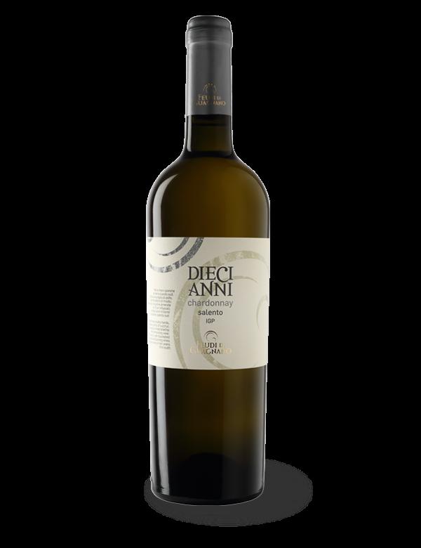 Diecianni Chardonnay 2015 - Chardonnay Salento IGT - Feudi di Guagnano