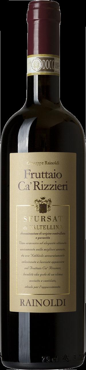 Fruttaio Cà Rizzieri 2017 - Sfursat di Valtellina DOCG - Rainoldi