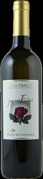 Per Eva 2018 - Costa d'Amalfi bianco doc - Tenuta San Francesco