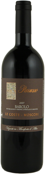 Barolo Mosconi 2016 - Barolo DOCG - Parusso