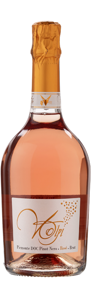 Spumante Pinot Nero Rosè Brut - Piemonte Doc - Cantine Volpi
