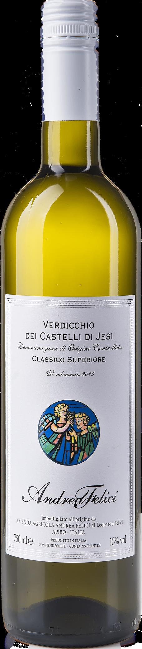 Classico superiore Andrea Felici - Verdicchio dei Castelli di Jesi 2015