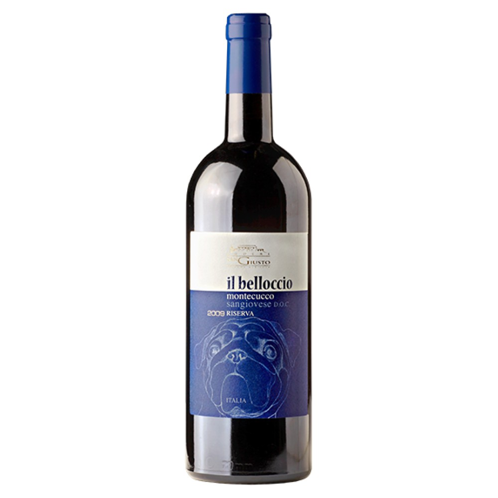 Il Belloccio 2009 - Montecucco Rosso Riserva Doc - Podere San Giusto